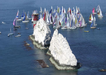 Round the Island Yacht Race June 2006